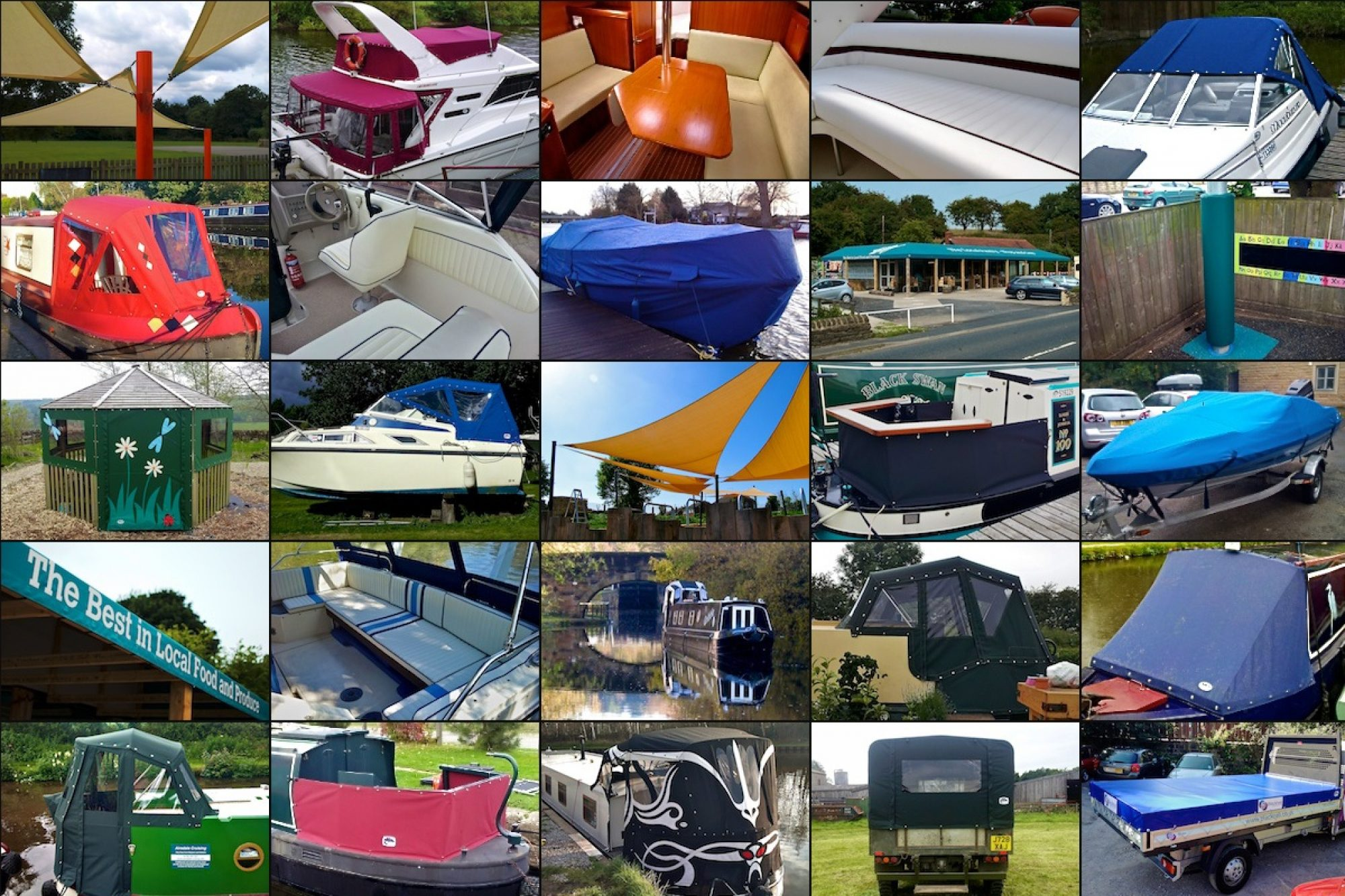 Boat Covers Yorkshire
